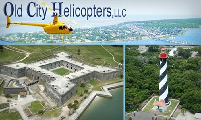 Old City Helicopters - Petersburg: $149 Helicopter Tour for up to Three People from Old City Helicopters (Up to $255 Value)