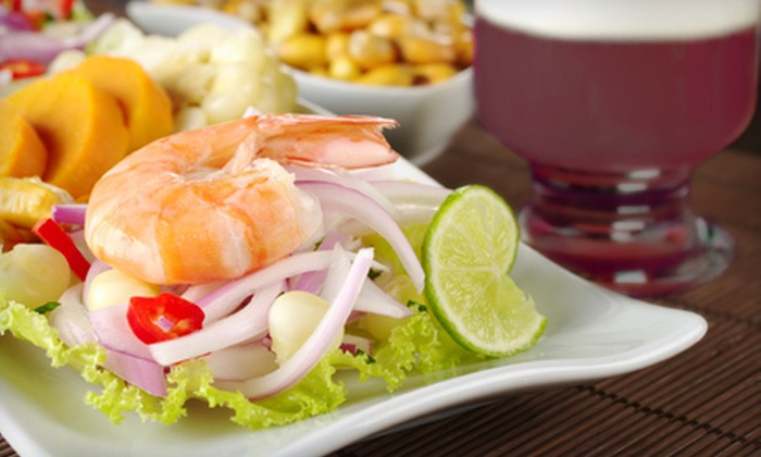 Pisco's Peruvian Restaurant - Jacksonville: $24 for Peruvian Fare for Two at Pisco's Peruvian Restaurant (Up to $48.35 Value)
