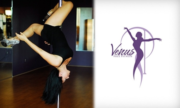 Venus Pole Fitness - Multiple Locations: $20 for Two Introductory Pole Dance Workshops at Venus Pole Fitness ($50 value)