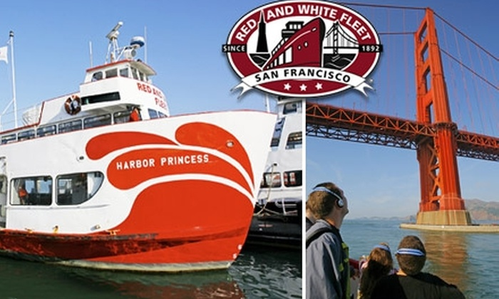 Red and White Fleet - San Francisco: $25 for a Golden Gate Bay Cruise Season Pass from Red and White Fleet