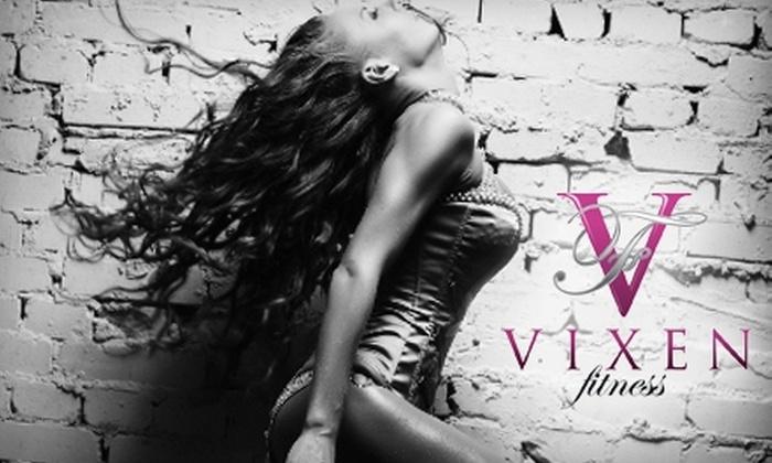 Vixen Fitness - Florida Center: $30 for Four Flirty Female-Fitness Classes at Vixen Fitness ($84 Value)