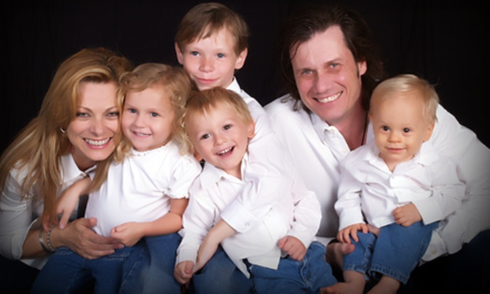 Studio One to One  - Winston-Salem: $12 for Photo Shoot and Collection Package Including Prints and Wall Portrait at Studio One to One in Winston-Salem ($109 Value)