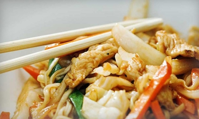 China Rose Restaurant - Northeast Calgary: $17 for an Asian Dinner Buffet for Two ($33.98 Value) or $20 for $40 Worth of Asian Cuisine and Drinks from China Rose Restaurant