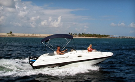 2-Hour Powerboat Rental (up to a $250 value) - Blue Water Powerboat Rentals in Riviera Beach