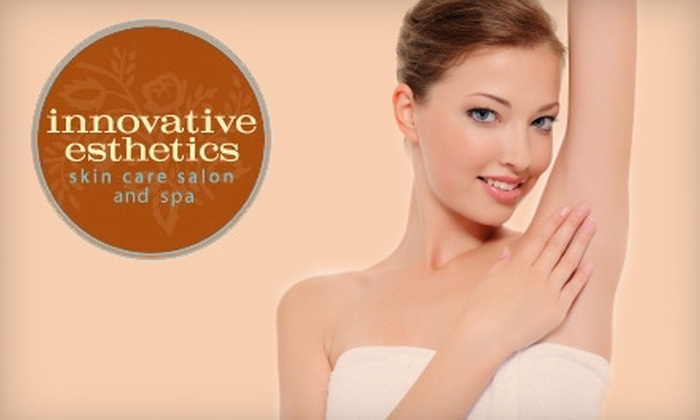 Innovative Esthetics Skin Care Salon and Spa - Orangetown: $149 for Six Laser Hair Removal Treatments (Up to a $1260 Value) or $850 for Six Fat-Reducing Zerona Treatments (Up to a $2100 Value) at Innovative Esthetics Skin Care Salon and Spa