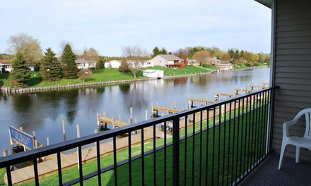 Stay at Fleetwood Inn & Suites in Cheboygan, MI, with Dates into October