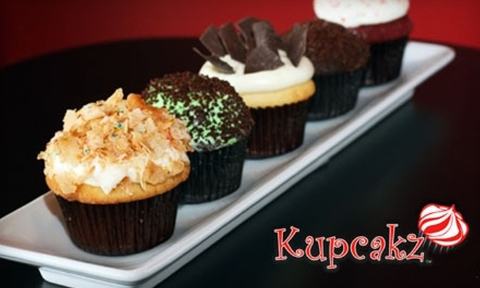 Kupcakz - Tulsa: $14 for One Dozen Assorted Cupcakes or Two Dozen Mini-Cupcakes from Kupcakz (up to a $28 value)