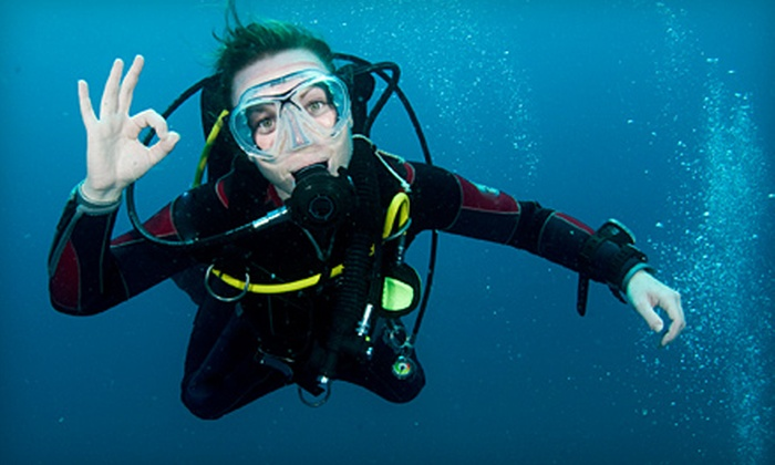 Diver's Den - Northside: Discover Scuba Package for One or a Scuba Party for Up to Eight at Diver's Den in St. Marys