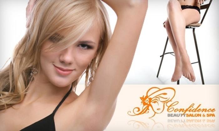 Confidence Beauty Salon and Spa - Kips Bay: $29 for a Chocolate Brazilian Bikini Wax, Upper-Lip Wax, and Underarm Wax at Confidence Beauty Salon and Spa ($60.61 Value)