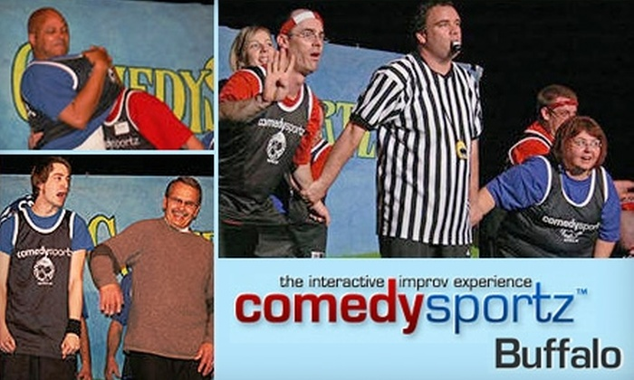 ComedySportz - Amherst: $8 for Two General-Admission Improv Tickets to ComedySportz (Up to $20 Value)