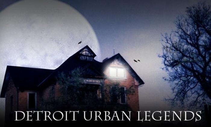 Detroit Urban Legends Haunted House - University: $5 for One Ticket to Detroit Urban Legends Haunted House (Up to $10 Value)