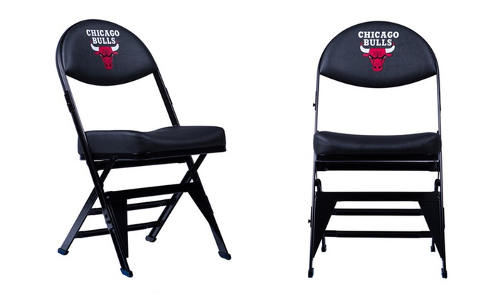Spec Seats - Spec Seats: $159.99 for a Chicago Bulls X-frame Court-Side Seat with In-Store Pickup at Spec Seats ($199.99 Value)