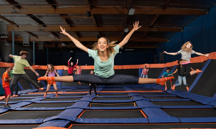 Sky Zone - Kennesaw - Kennesaw: Two 60-Minute Open-Jump Sessions with Sky Socks at Sky Zone - Kennesaw (Up to 50% Off). Two Options Available.