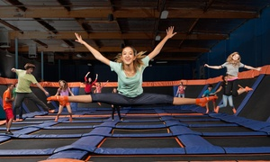 Sky Zone - Kennesaw: Two 60-Minute Open-Jump Sessions with Sky Socks at Sky Zone - Kennesaw (Up to 50% Off). Two Options Available.