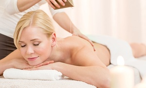 Urveda Spa: Essential Oil Massage, Light Therapy, Herbal Tea and Moisturization at Urveda Spa (Up to 80% Off)