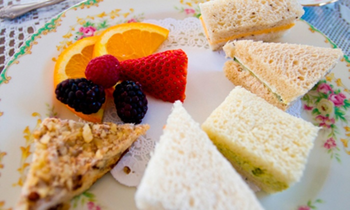 McKenna Tea Cottage - Seal Beach: Tea with Sandwiches and Treats for Two or Four at McKenna's Tea Cottage (Up to 54% Off)