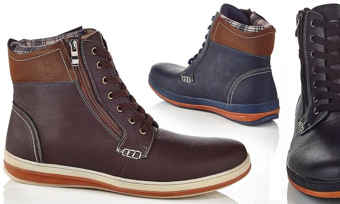 Henry Ferrera Carlos Men's Slip-On Boots