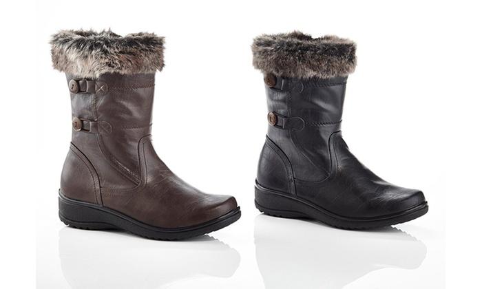 Rasolli Women's Comfort Riding Boots