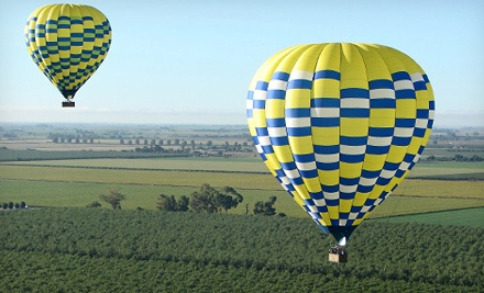 $179 for a One-Hour Hot Air Balloon Flight from Aerostat Adventures (Up to $320 Value)