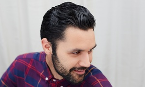 Clips by Britt: Men's Haircut and Wash with Optional Hot-Towel Shave at Clips by Britt (Up to 52% Off)