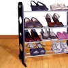 12-Pair Shoe Rack