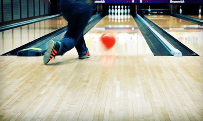 Anastasia Lanes and Putnam Lanes - Anastasia Lanes: Two Games of Bowling with Shoe Rental for Two or Four at Anastasia Lanes in St. Augustine (52% Off)