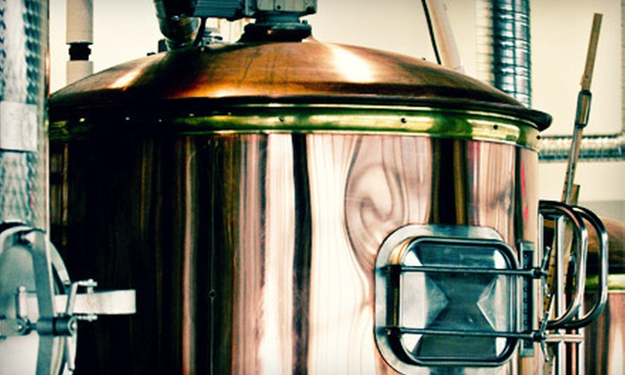 Whistler Brewing Company - Whistler: Brewery Tour and Tasting with Shareable Appetizers for Two or Four at Whistler Brewing Company (Up to 57% Off)