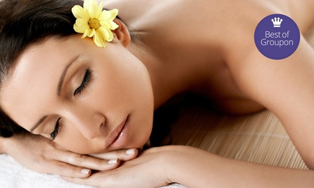Spa Package for One or Two with a Massage, Aromatherapy Bath, and Vichy Shower Body Exfoliation at Cielo Spa