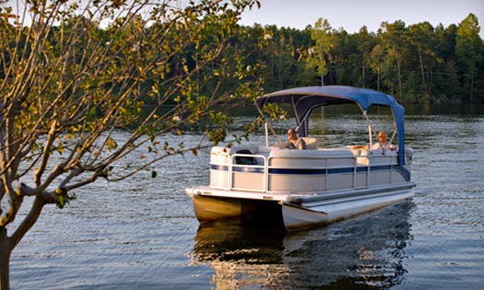 Boat Oneida - Boat Oneida: $132 for an All-Day Pontoon Rental for Up to Nine People from Boat Oneida ($265 Value)