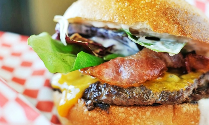 Pork Belly Grub Shack - RP Sports Compex: Casual American Cuisine for Dinner or Lunch at Pork Belly Grub Shack (Up to 35% Off)