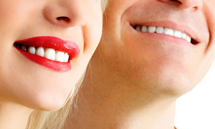 Smile RX - Multiple Locations: One or Two LED Blue-Light Teeth-Whitening Sessions  at Smile RX (Up to 60% Off)