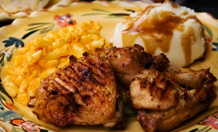 Fried or Slow-Roasted Chicken Dinner for Four Valid until May 1 (a $25.99 value)  - Max's Delicatessen in Birmingham