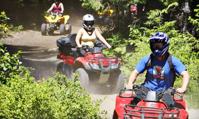 Whistler ATV - Whistler: $108 for an ATV Bushwacker Tour for Two from Whistler ATV ($217.28 Value)