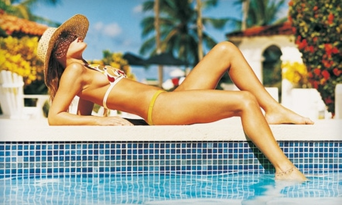Sunset Tans - Amity: $17 for $35 Worth of Tanning, Spray Tanning, and Products at Sunset Tans