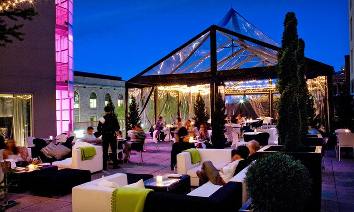 Opus Hotel - Saint-Jacques: One-Night Stay in Deluxe Room or Junior Suite, Drinks, and Breakfast for Two at Opus Hotel Montreal