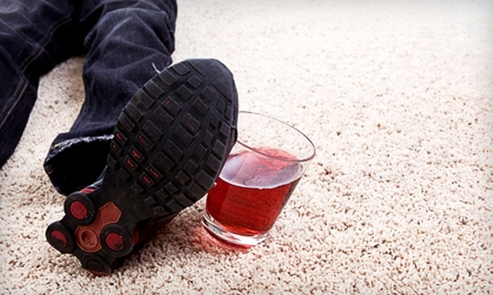 Sani-Bright Carpet Cleaning - Beech Grove: $55 for Two-Room Carpet Cleaning from Sani-Bright Carpet Cleaning ($110 Value)