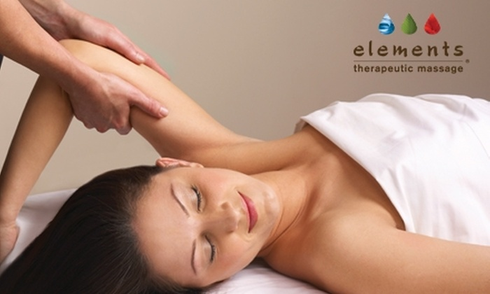 Elements Therapeutic Massage - Henderson: $45 for a 55-Minute Therapeutic Massage at Elements Therapeutic Massage ($89 Value)