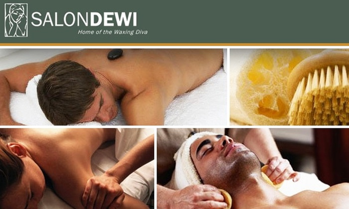 Salon Dewi Home of the Waxing Diva - Broadway: $60 for $120 Worth of Massages and Body-Wrap Treatments at Salon Dewi