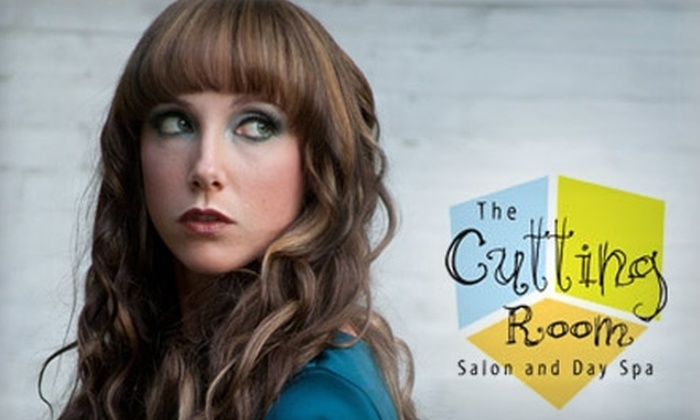 The Cutting Room - City Commercial Core: $84 for Hair Cut and Highlights ($169 Value) or $19 for Men's Cut and Style ($39.55 Value) at The Cutting Room