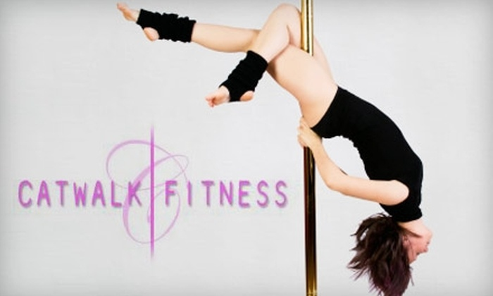 Catwalk Fitness - Multiple Locations: $35 for Two Intro to Pole-Dancing Class at Catwalk Fitness ($80 Value)