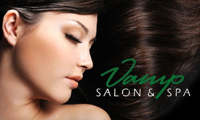 Vamp Salon & Spa - New Tacoma: $99 for Brazilian Blowout ($250 Value) or $39 for Broadway Facial ($80 Value) at Vamp Salon & Spa in Tacoma