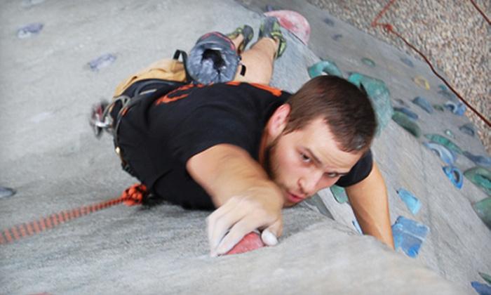 Peak Experiences - Midlothian: Rock-Climbing Sampler or Package at Peak Experiences in Midlothian (Up to 53% Off)