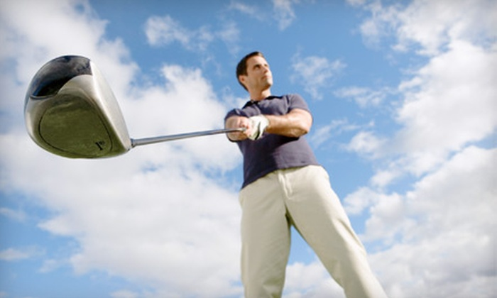 World Beat Family Golf - Rutland: $27 for a Golf Swing Video Analysis and a Grande Bucket of Golf Balls at World Beat Family Golf ($59.45 Value)