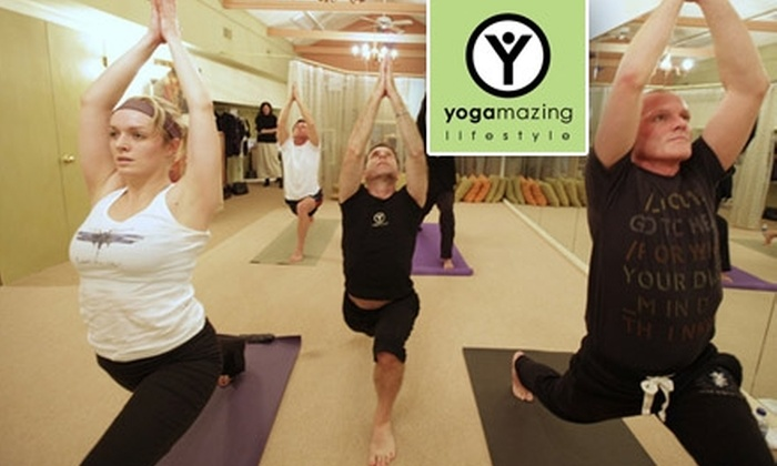 YOGAmazing - East Louisville: $30 for Five Drop-In Yoga Classes at YOGAmazing ($60 Value)