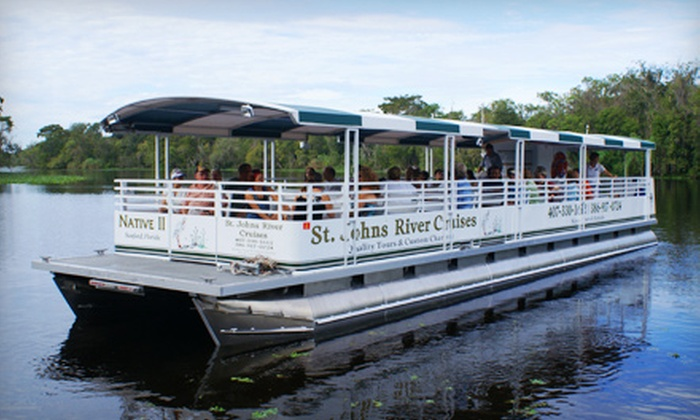 St. Johns River Cruises - Orange City: $11 for a Two-Hour Narrated River Cruise from St. Johns River Cruises in Orange City (Up to $22 Value)