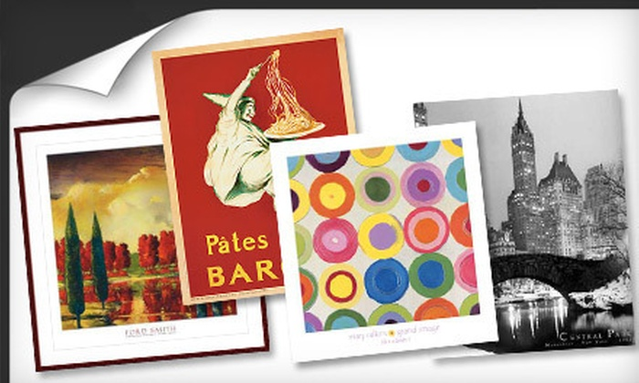 Barewalls Decor Group: Posters, Framed Art, and Wall Decor from Barewalls Decor Group (Up to 53% Off). Two Options Available.
