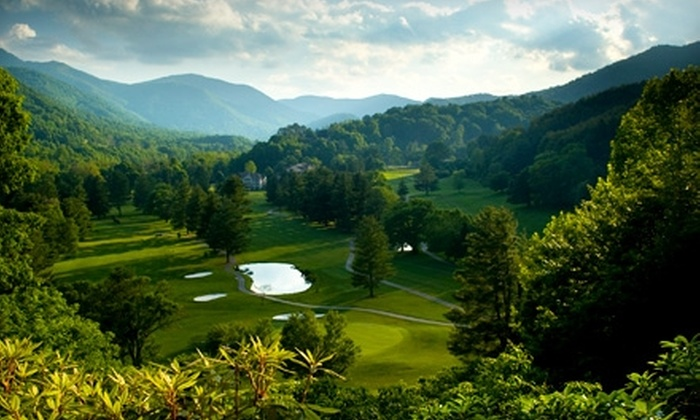 Maggie Valley Club & Resort - Maggie Valley: $39 for 18 Holes of Golf with Golf-Cart Rental and Bucket of Range Balls at Maggie Valley Club & Resort ($79 Value)
