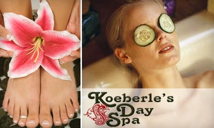 Koeberle's Day Spa - Parker: $69 for a Spa Package from Koeberle's Day Spa in Parker ($173 Value)