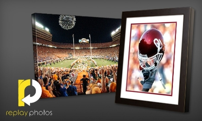 Replay Photos: $25 for $64 Worth of Sports and History Photos from Replay Photos