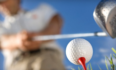 1 Private Golf Lesson with Driving-Range Time (a $55 value) - San Ignacio Golf Club in Green Valley